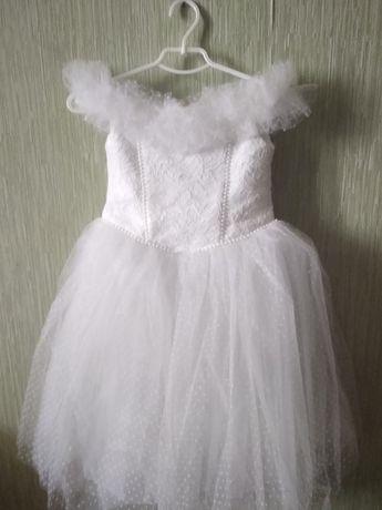 нарядное выпускное, Новогоднее платье для девочки