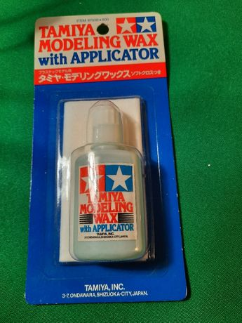 Tamiya #87036 Modeling Wax with Applicator - Novo