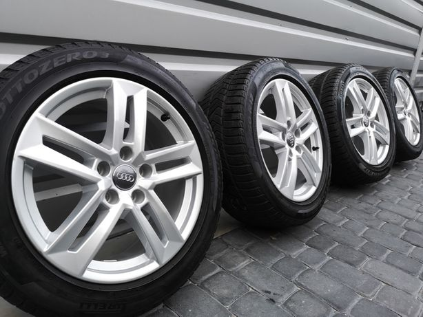 "Oryginalne Felgi Koła Audi 17"" A3 A4 A5 A6 A8 Q3 Q5 TT"