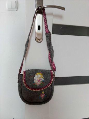 Torebka plecak dla dzieci