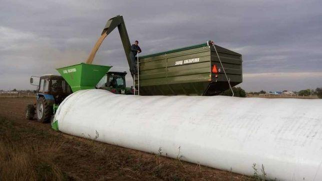Запаковщики зерна кукурузы в полимерные рукава мешки. Аренда и продажа