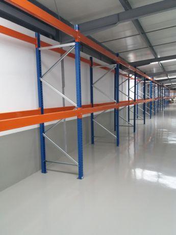 estantes industriais racks para carga pesada paletes