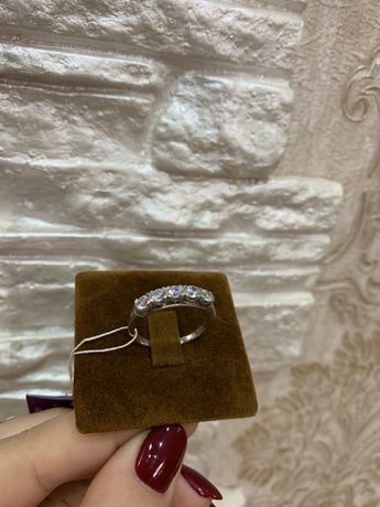 Кольцо- серебро 925 пробы