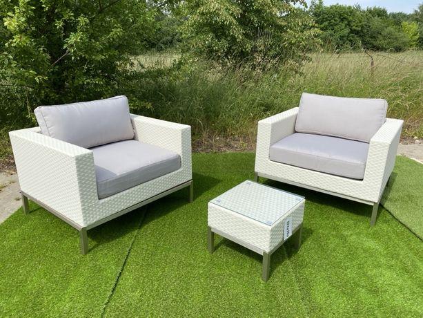 zestaw MEBLI OGRODOWYCH // meble ogrodowe// 2 fotele i stolik PROMOCJA