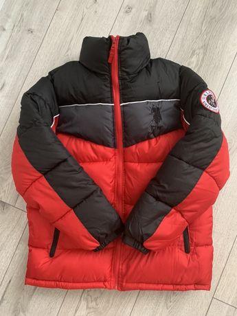 Теплая куртка для мальчика, новая U.S. POLO ASSN