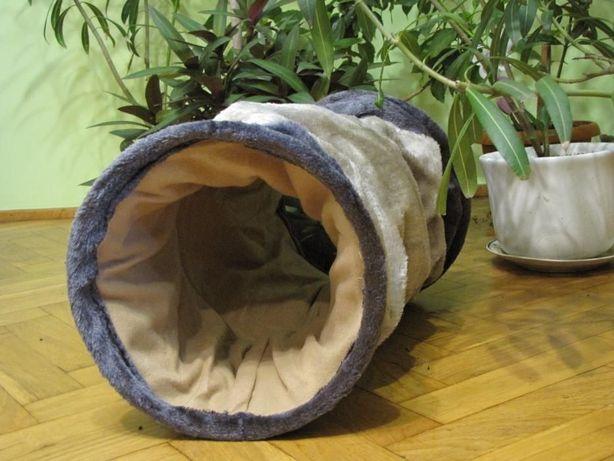 Zabawka tunel - legowisko dla kota, królika