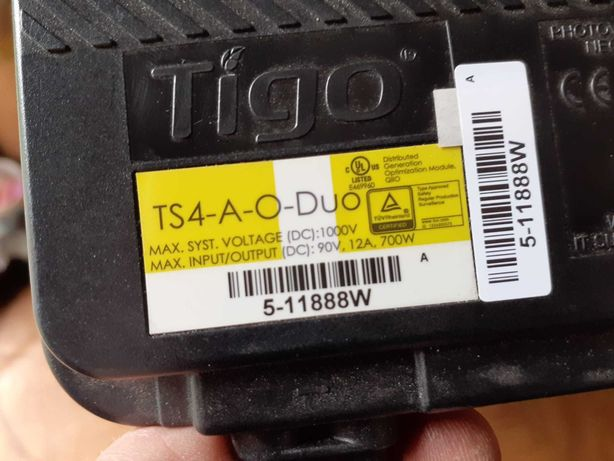 Optymalizator TIGO TS4-A-O-DUO (na dwa panele) 700w, Fotowoltaika
