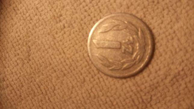 Moneta 1zl z 1966r