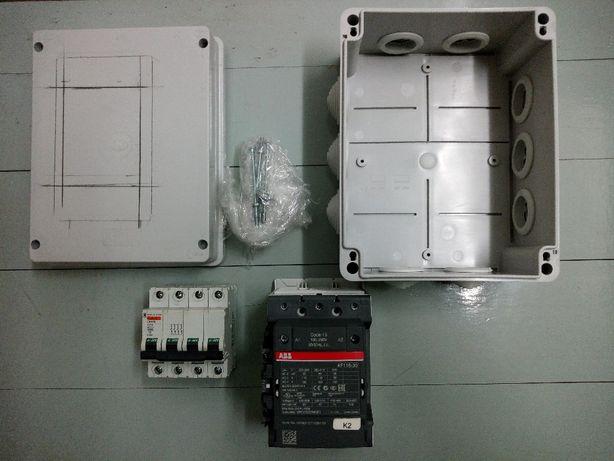 Material Elétrico contactor ABB Af 116-30