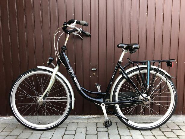 Rower miejski CORTINA/rama 52 cm/koła 28 cali/prądnica/Nexus 7