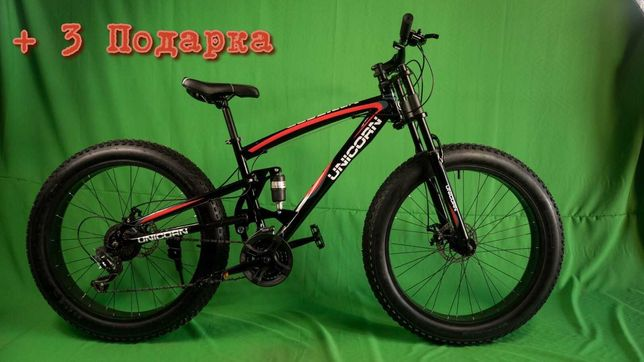 FETBIKE fetbike фетбайк 26 фетбайк двухподвес внедорожник велосипед 26