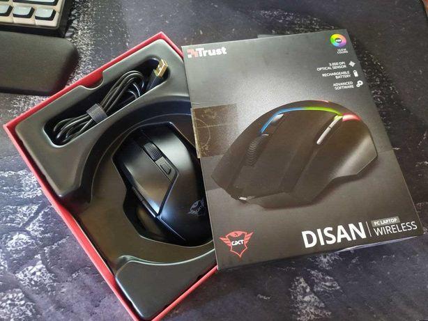 Игровая беспроводная Мышь Trust GXT 161 Disan Wireless Black