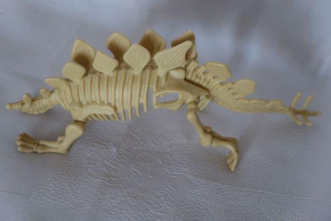 szkilet stegozaura do składania, stan bardzo dobry