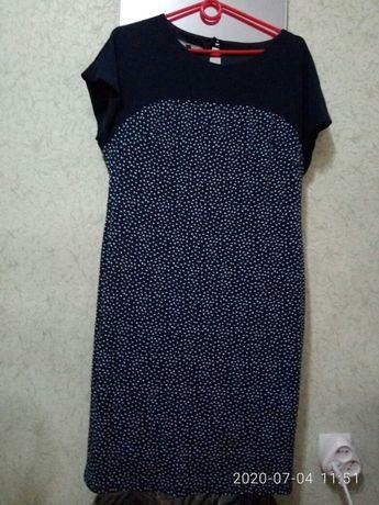 Платье в горох М