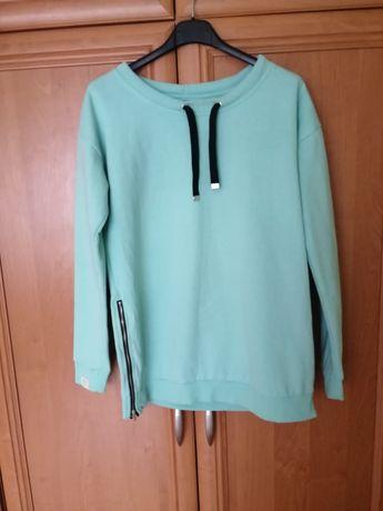 Limonkowa bluza sinsay