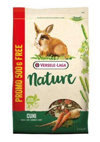 Versele Laga Cuni Nature dla DOROSŁYCH KRÓLIKÓW 2,3kg Promocja
