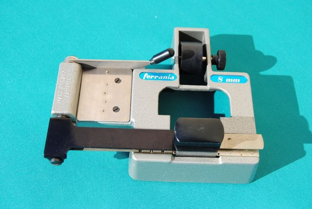 Ferrania A1729 8mm Film Guilhotina Vintage - Fotografia Filme