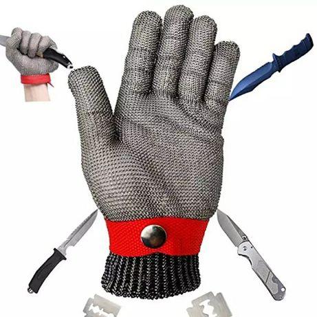 Перчатка с нержавеющей стали, кальчужная, для устриц