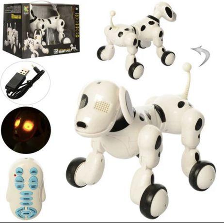 Робот-собака 619 на радиоуправлении световые и звуковые эффекты