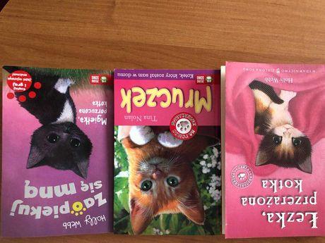 Książki o kotkach