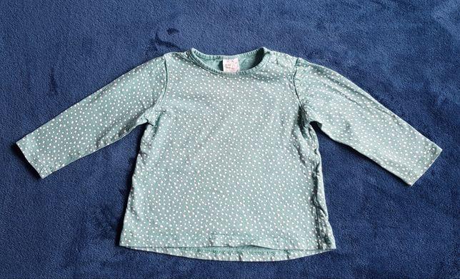 Bluzeczka dziewczęca H&M roz. 80