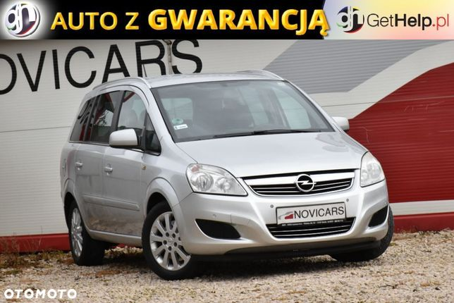 Opel Zafira Zadbana, Niewielki Przebieg! Serwisowana, GWARANCJA!