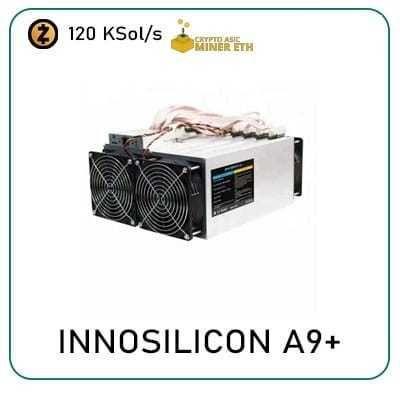 Innosilicon A9+ ZMaster 120 kSol/s! (Antminer)
