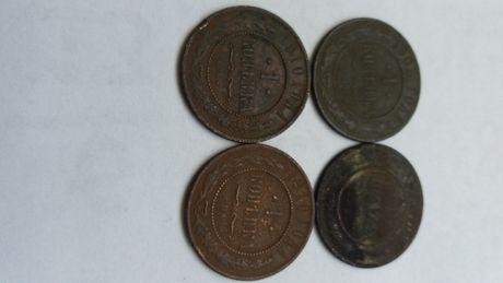 **N E(9) 1 kopiejka 1876 ,1903, 1910 x2 Rosja carska stara moneta