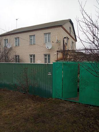 Продам пол дома в краснокутском районе