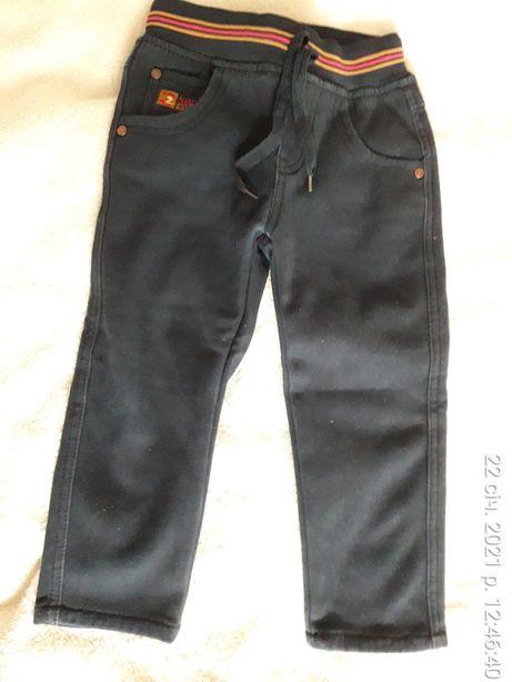 Теплые штаны на байке Tong Maile 3 - 4 года штани штанишки брюки