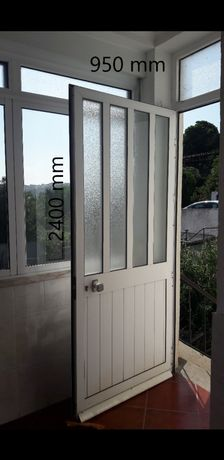 Janelas aluminio lacadas impecaveis