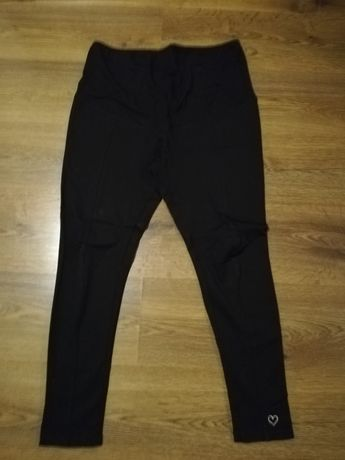 Spodnie ciążowe, czarne
