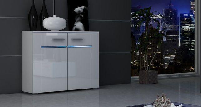 BREMA LED – nowoczesna komoda połysk! Dostawa 0zł