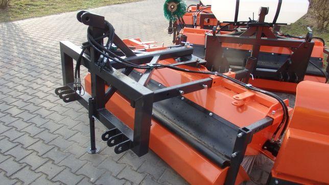 Zamiatarka drogowa komunalna Orkan 2m szczotka boczna wózek ładowarka