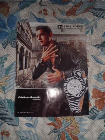 Póster Cristiano Ronaldo - Time Force