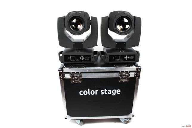 2 x Głowica ruchoma COLORSTAGE BEAM 7r + case/ MoveHead