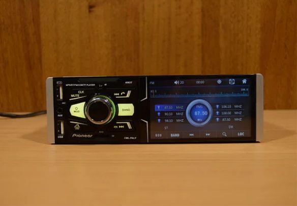 Автомагнитола сенсорная bluetooth экран 4.1дюйм 50 Вт * 4