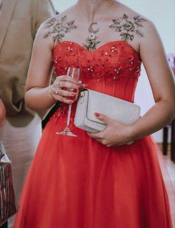 Długa sukienka suknia balowa