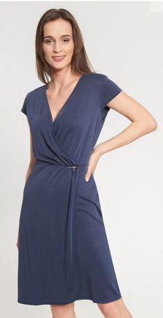 Granatowa sukienka Quiosque r. 36