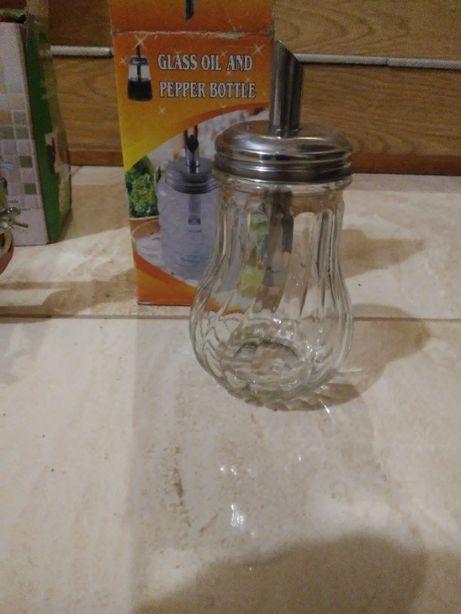 Butelka na oliwe, magge szklana