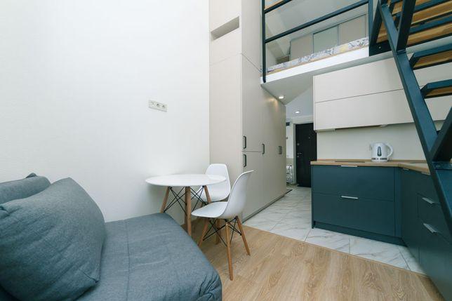 Аренда посуточно 2х этажная квартв новом доме SmartHause м.Берестейска