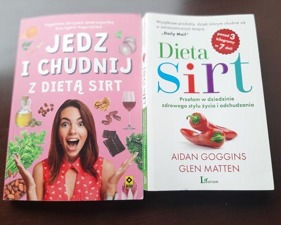 Dieta Sirt dwie książki