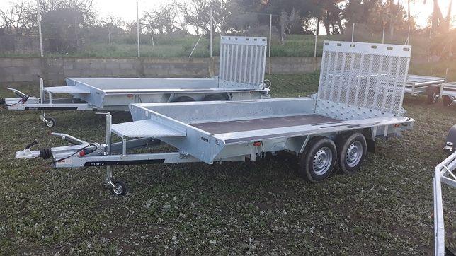 Atrelado/Reboque MARTZ Mod BAU 3 400/2 Porta Máquinas/NOVO/Garantia