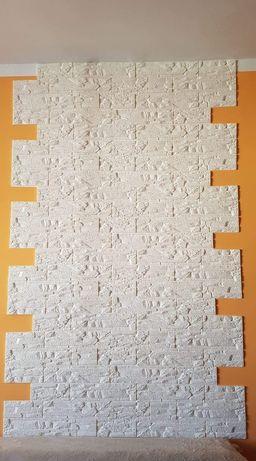 TAPETA 3D  pianka samoprzylepna cegła naklejka wymiar 60x60