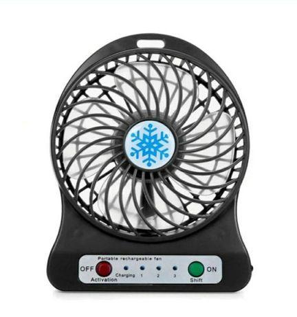 Портативный USB мини-вентилятор с аккумулятором Portable Mini Fan