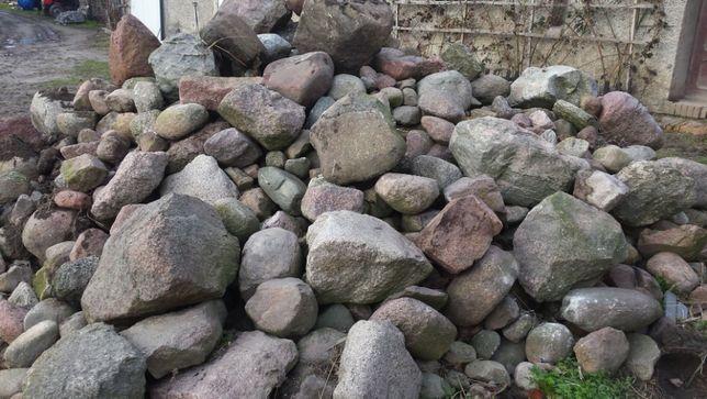 Kamień polny, różna wielkość, 20 ton.