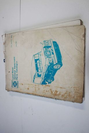 Manual Peças Land Rover Serie 2 IIA RTC1009
