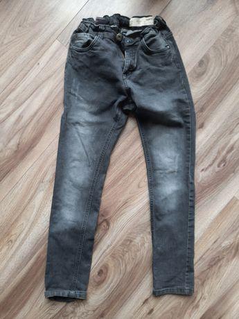 Jeans Spodnie czarne 158 chłopięce