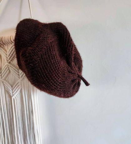 Bóina Castanha de lã