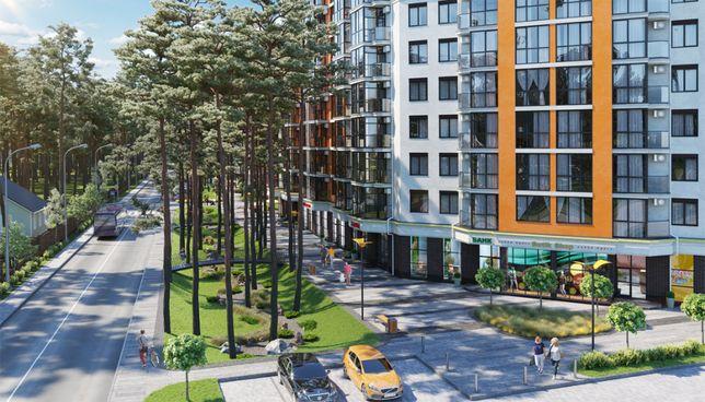 Продам квартиру 38 м2 в малоэтажном доме. Панорамные окна. Лес. Озеро